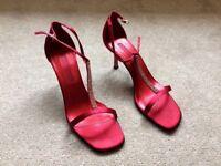 Ladies evening red sandles
