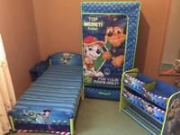 Kids bed matters wardrobe bookcase