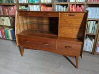 G Plan Brandon sideboard 1950s early walnut in original top condition mid century modern gplanera