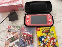 Nintendo switch Pink bundle