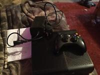 Xbox 360 with 500gb of memory and 32 games