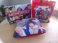 One Direction Monopoly, Cushion and Bag