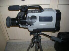 Panasonic super vhs reporter camcorder