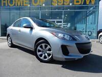 2012 Mazda Mazda3 GX Sedan - CERTIFIED (7 Year Warranty)