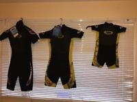 3 Twf Kids Wetsuit Size : 8, K14 And k06. Brand new never been