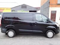 Finance me... Ford Transit Custom TREND 125 BHP in the rare midnight black.. (54)