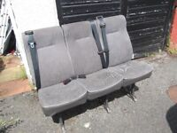 TRANSIT VAN PASSENGER SEATS WITH SEAT BELTS GOOD CONDITION CAN DELIVER