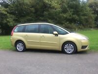 Citroen C4 Grand Picasso VTR HDI (07) *Full History *7 Seater *Automatic