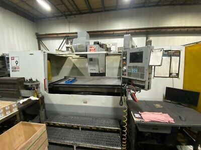 Used Haas Vf-9 Cnc Vertical Machining Center Mill 10k Rpm Ct40 Side Mount Atc 03