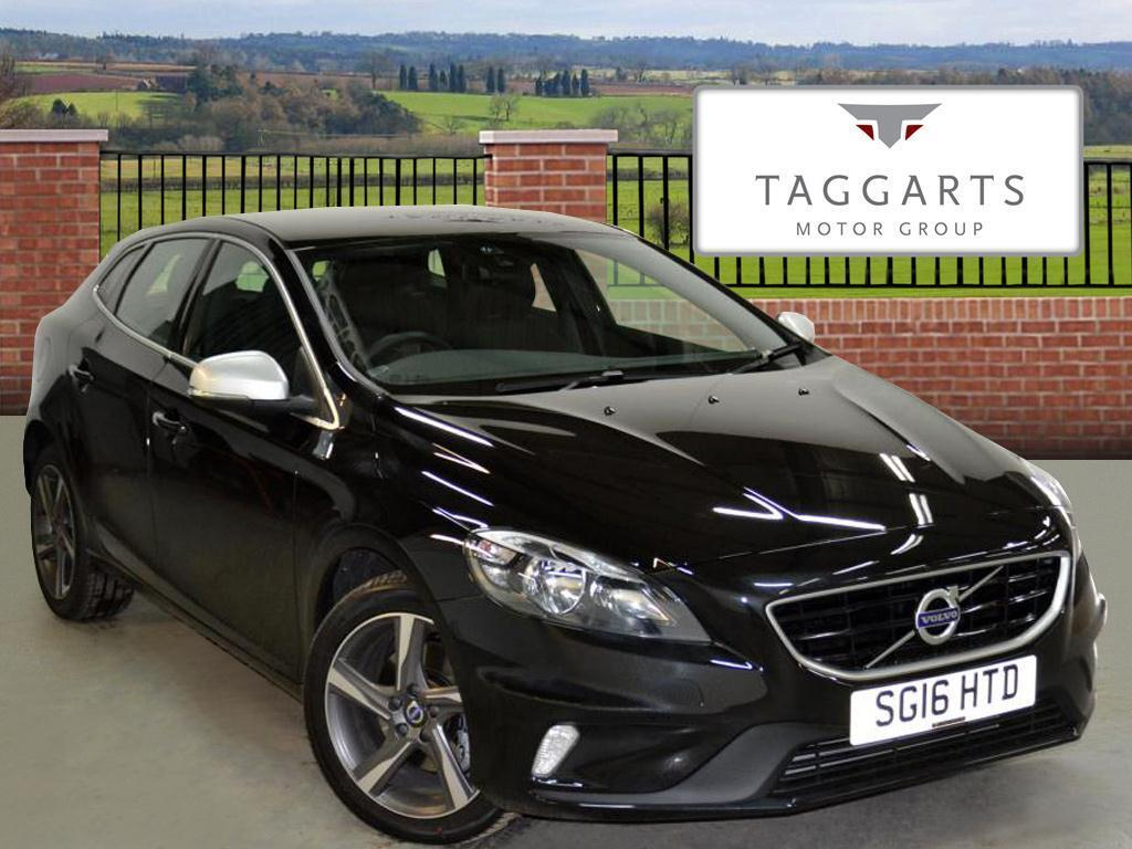 volvo v40 t2 r design black 2016 03 11 in motherwell north lanarkshire gumtree. Black Bedroom Furniture Sets. Home Design Ideas