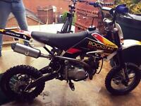 140cc YX Stomp Pitbike Dirtbike CRF70 Manual