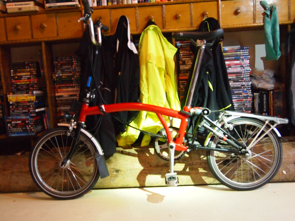 brompton M6R red in Machynlleth, Powys Gumtree
