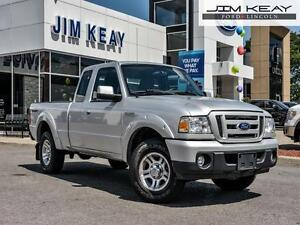2010 Ford Ranger SPORT 4X2 SUPERCAB*4.0L V6*AUTOMATIC*A/C*BEDLIN