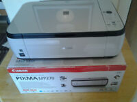 Canon pixma mp270 scanner printer