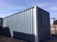 21ft x8ft Anti Vandal Site Office / Portable Building / Secure Cabin / 2500+VAT