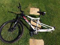 apollo mountain bike frame & Wheel