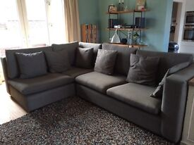 Corner L shaped sofa