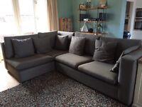 Corner L shaped sofa
