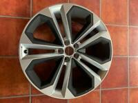 "New genuine Audi Q SQ5 Alloy wheel 21"" 8.5J 80A601025 AS *scratched*"