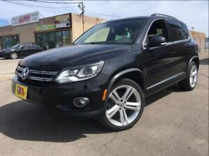 2013 Volkswagen Tiguan HIGHLINE | R-LINE PKG| LOADED | 4MOTION