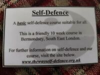 Self Defence Course - Starting July 5th 2021