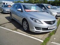MAZDA 6. TS DIESEL ESTATE, 6 SPEED CRUISE CONT, DUEL CLIMATE, 82000 MLS