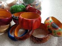 Bangles bulk buy hand made wooden bangles