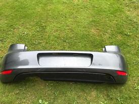 Golf gtd rear bumper