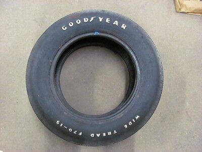 Original 1971 71 Corvette Goodyear F70-15 Tire 27th Week LT1 LS6 454 BLEM