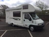 Fiat Ducato glen mclouis 5 berth 54 Reg REDUCED TODAY LOOK finance available toilet shower