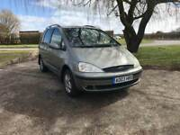 FORD GALAXY 2003 1.9 DIESEL AUTOMATIC 9 MONTHS MOT 7 SEATER DRIVES LOVELY