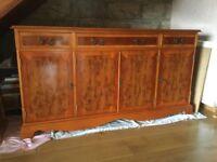 Yew sideboard
