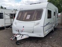 Ace Award Tristar. (2005) L shape Front. Rear Fixed Bed, Great Bathroom, MTPLM: 1438kgs