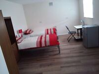 Spacious fully furnished twin studio flat in Abbeywood, SE2 to let