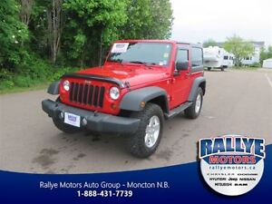 2012 Jeep Wrangler Sport! ONLY 17KM! Trade-In! Save!
