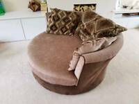 Sofa set (corner and swivel)