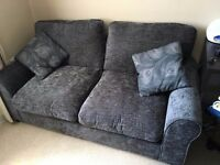 Charcoal Small Double Sofa Bed