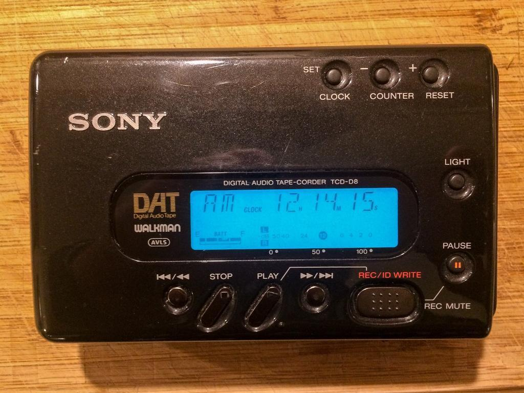 Sony Dat Walkman TCD-D8