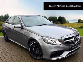 Mercedes-Benz E Class E63 AMG (silver) 2014-03-26