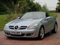 MERCEDES-BENZ SLK 3.5 SLK350 2d AUTO 269 BHP IMMACULATE CONDITION (silver) 2005