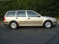 VW GOLF ESTATE (05) 1.9 SDi 12 MONTHS MOT