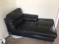 Part of corner sofa