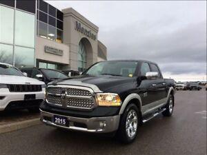 2015 Ram 1500 Laramie ECO-Diesel, Navi, Sunroof, Clean Carproof
