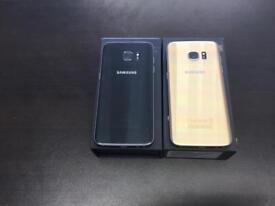 Samsung galaxy s7 32gb unlocked good condition with warranty and accessories black colour