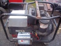 MOSA TOP OF THE RANGE GENERATOR WELDER NOT WORKING BUT ENGINE A HUNDRED PER CENT PARTS OR REPAIR