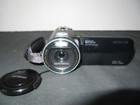 Hitachi HD camcorder, used but in excellent condition + full kit.