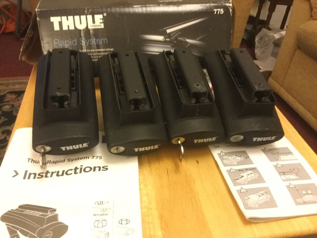 Thule 775 Rapid System Universal Roof Rack Foot For Pre