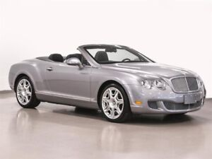 2011 Bentley Continental GTC NEVER ACCIDENTED LOW KM