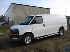 """2016 GMC Savana 2500 135"""" WB Cargo Van, Power Steering, 4.8L"""