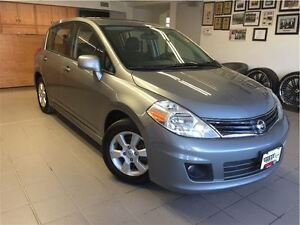 2012 Nissan Versa 1.8 SL RARE/MOONROOF/SPOILER PACKAGE
